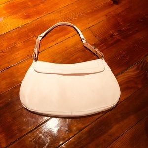 Handbags - Claudia Firenze spring pink leather bag!